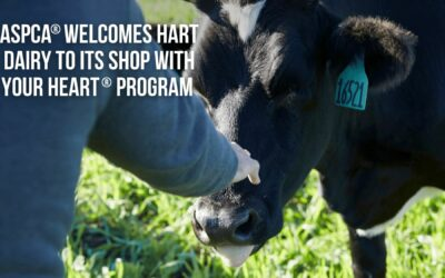 ASPCA® Welcomes Hart Dairy to its Shop With Your Heart® Program