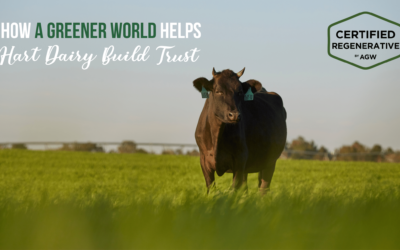 Hart Dairy Accepted into Pilot Program for Certified Regenerative by A Greener World
