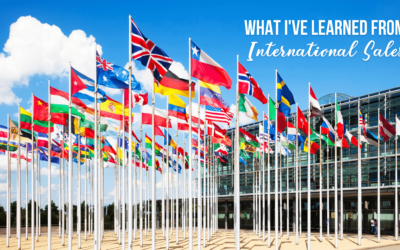 What I've learned from International Sales